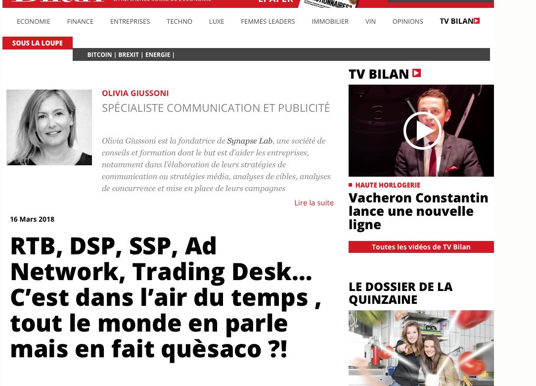 RTB, DSP, SSP, Ad Network, Trading Desk… C'est dans l'air du temps , tout le monde en parle mais en fait quèsaco ?!